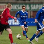 18-03-2016: Voetbal: Helmond Sport v Almere City FC: Helmond Kaj Ramsteijn (Almere City FC) Jupiler League 2015 / 2016