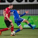 18-03-2016: Voetbal: Helmond Sport v Almere City FC: Helmond (L-R) Steven Edwards (Helmond Sport), Jason Oost (Almere City FC) Jupiler League 2015 / 2016
