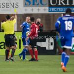 18-03-2016: Voetbal: Helmond Sport v Almere City FC: Helmond /k Serdar Gözübüyük (Scheidsrechter), Kees van Buuren (Almere City FC) Jupiler League 2015 / 2016
