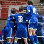 18-03-2016: Voetbal: Helmond Sport v Almere City FC: Helmond (L-R)Javier Vet (Almere City FC), Jason Oost (Almere City FC) Jupiler League 2015 / 2016