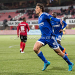 18-03-2016: Voetbal: Helmond Sport v Almere City FC: Helmond Jason Oost (Almere City FC) Jupiler League 2015 / 2016