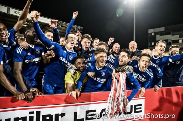 08-04-2016: Voetbal: FC Oss v Almere City FC: Oss Jupiler League 2015 / 2016