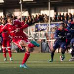 29-04-2016: Voetbal: Almere City FC v Jong PSV: Almere Jason Oost (Almere City FC) 2 - 0 Jupiler League 2015 / 2016