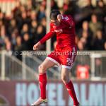 29-04-2016: Voetbal: Almere City FC v Jong PSV: Almere Pelle van Amersfoort (Almere City FC) Jupiler League 2015 / 2016