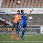 05-08-2016: Voetbal: FC Volendam v Almere City FC: Volendam (L-R) Rihairo Meulens (FC Volendam), Paul Quasten (Almere City FC) Jupiler League 2016 / 2017