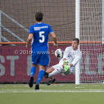 05-08-2016: Voetbal: FC Volendam v Almere City FC: Volendam Chiel Kramer (Almere City FC) Jupiler League 2016 / 2017