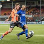 05-08-2016: Voetbal: FC Volendam v Almere City FC: Volendam (L-R) Paul Kok (FC Volendam), Soufyan Ahannach (Almere City FC) Jupiler League 2016 / 2017