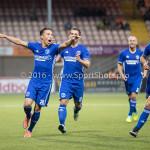05-08-2016: Voetbal: FC Volendam v Almere City FC: Volendam Gaston Salasiwa (Almere City FC) Jupiler League 2016 / 2017