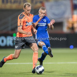 05-08-2016: Voetbal: FC Volendam v Almere City FC: Volendam (L-R) Henny Schilder (FC Volendam), Silvester van de Water (Almere City FC) Jupiler League 2016 / 2017
