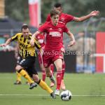 13-08-2016: Voetbal: Jong Almere City FC v Rijnsburgse Boys: Almere Maarten Davids (Almere City FC) 3de divisie zaterdag 2016 /2017