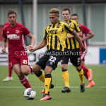 13-08-2016: Voetbal: Jong Almere City FC v Rijnsburgse Boys: Almere Joël Tillema (Rijnsburgse Boys) 3de divisie zaterdag 2016 /2017