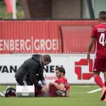 13-08-2016: Voetbal: Jong Almere City FC v Rijnsburgse Boys: Almere Dyllan Lanser (Almere City FC) 3de divisie zaterdag 2016 /2017