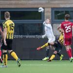 13-08-2016: Voetbal: Jong Almere City FC v Rijnsburgse Boys: Almere Roy Pistoor (Almere City FC) 3de divisie zaterdag 2016 /2017