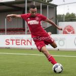 13-08-2016: Voetbal: Jong Almere City FC v Rijnsburgse Boys: Almere Daan Ibrahim (Jong Almere City FC) 3de divisie zaterdag 2016 /2017