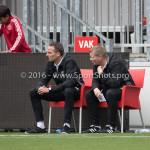 13-08-2016: Voetbal: Jong Almere City FC v Rijnsburgse Boys: Almere Rene Koster - Trainer (Jong Almere City FC) 3de divisie zaterdag 2016 /2017