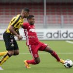 13-08-2016: Voetbal: Jong Almere City FC v Rijnsburgse Boys: Almere Joy Schoonhoven (Jong Almere City FC) 3de divisie zaterdag 2016 /2017