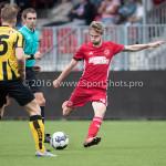 13-08-2016: Voetbal: Jong Almere City FC v Rijnsburgse Boys: Almere Jasper Waalkens (Almere City FC) 3de divisie zaterdag 2016 /2017