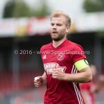13-08-2016: Voetbal: Jong Almere City FC v Rijnsburgse Boys: Almere Tom Noordhoff (Jong Almere City FC) 3de divisie zaterdag 2016 /2017