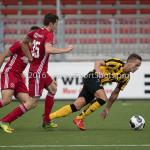 13-08-2016: Voetbal: Jong Almere City FC v Rijnsburgse Boys: Almere Nick van Hilten (Jong Almere City FC) 3de divisie zaterdag 2016 /2017
