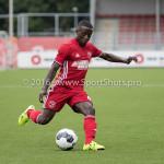 13-08-2016: Voetbal: Jong Almere City FC v Rijnsburgse Boys: Almere Jean Willy Mapinga (Jong Almere City FC) 3de divisie zaterdag 2016 /2017