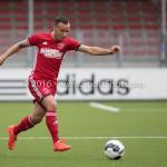 13-08-2016: Voetbal: Jong Almere City FC v Rijnsburgse Boys: Almere (L-R) Danny van Haaren (Jong Almere City FC) 3de divisie zaterdag 2016 /2017