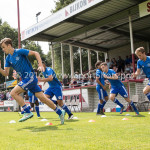 20-08-2016: Voetbal: Harkemase Boys v Jong Almere City FC: Harkema Maarten Davids (Almere City FC) 3de divisie zaterdag 2016 /2017