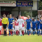 20-08-2016: Voetbal: Harkemase Boys v Jong Almere City FC: Harkema 3de divisie zaterdag 2016 /2017