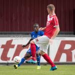 20-08-2016: Voetbal: Harkemase Boys v Jong Almere City FC: Harkema Jean Willy Mapinga (Jong Almere City FC) 3de divisie zaterdag 2016 /2017