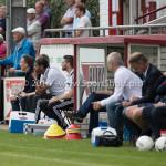 20-08-2016: Voetbal: Harkemase Boys v Jong Almere City FC: Harkema Rene Koster - Hoofd opleiding / Trainer Jong (Jong Almere City FC) 3de divisie zaterdag 2016 /2017