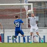 20-08-2016: Voetbal: Harkemase Boys v Jong Almere City FC: Harkema Mike Grim (Almere City FC) 3de divisie zaterdag 2016 /2017
