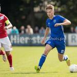 20-08-2016: Voetbal: Harkemase Boys v Jong Almere City FC: Harkema Stijn Kelder (Jong Almere City FC) 3de divisie zaterdag 2016 /2017