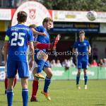 20-08-2016: Voetbal: Harkemase Boys v Jong Almere City FC: Harkema Adriaan Kruisheer (Jong Almere City FC) 3de divisie zaterdag 2016 /2017