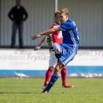 20-08-2016: Voetbal: Harkemase Boys v Jong Almere City FC: Harkema Jorni Camps (Jong Almere City FC) 3de divisie zaterdag 2016 /2017