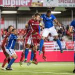 16-09-2016: Voetbal: Almere City FC v FC Den Bosch: Almere (L-R) Kay Ramstijn (Almere City FC), Jeremy Fernandes (FC Den Bosch) Jupiler League 2016 / 2017