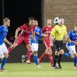 16-09-2016: Voetbal: Almere City FC v FC Den Bosch: Almere Gaston Salasiwa (Almere City FC) Jupiler League 2016 / 2017