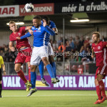 16-09-2016: Voetbal: Almere City FC v FC Den Bosch: Almere (L-R) Damon Mirani (Almere City FC), Arda Hava (FC Den Bosch) Jupiler League 2016 / 2017