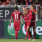 16-09-2016: Voetbal: Almere City FC v FC Den Bosch: Almere (L-R) Soufyan Ahannach (Almere City FC), Sven Braken (Almere City FC) Jupiler League 2016 / 2017