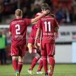 16-09-2016: Voetbal: Almere City FC v FC Den Bosch: Almere (L-R) Kees van Buuren (Almere City FC), Soufyan Ahannach (Almere City FC) Jupiler League 2016 / 2017