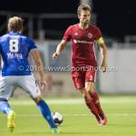16-09-2016: Voetbal: Almere City FC v FC Den Bosch: Almere Kay Ramstijn (Almere City FC) Jupiler League 2016 / 2017