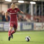 16-09-2016: Voetbal: Almere City FC v FC Den Bosch: Almere Silvester van de Water (Almere City FC) Jupiler League 2016 / 2017