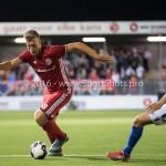 16-09-2016: Voetbal: Almere City FC v FC Den Bosch: Almere (L-R) Rick ten Voorde (Almere City FC), Jonas Heyman (FC Den Bosch) Jupiler League 2016 / 2017