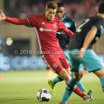 14-10-2016: Voetbal: Almere City FC v Jong PSV: Almere Sven Braken (Almere City FC) Jupiler League 2016 / 2017