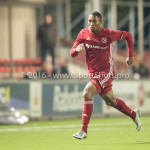 14-10-2016: Voetbal: Almere City FC v Jong PSV: Almere Sherjill MacDonald (Almere City FC) Jupiler League 2016 / 2017