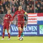 14-10-2016: Voetbal: Almere City FC v Jong PSV: Almere Kay Ramstijn (Almere City FC) Jupiler League 2016 / 2017