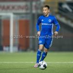 25-10-2016: Voetbal: FC Volendam v Almere City FC: Volendam Gaston Salasiwa (Almere City FC) KNVB Beker 2e ronde 2016 / 2017