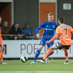 25-10-2016: Voetbal: FC Volendam v Almere City FC: Volendam (L-R) Jeffrey Rijsdijk (Almere City FC), Daniel van Son (FC Volendam) KNVB Beker 2e ronde 2016 / 2017