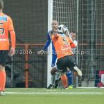 25-10-2016: Voetbal: FC Volendam v Almere City FC: Volendam (L-R) Jack Tuijp (FC Volendam), Chiel Kramer (Almere City FC) KNVB Beker 2e ronde 2016 / 2017