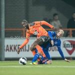 25-10-2016: Voetbal: FC Volendam v Almere City FC: Volendam (L-R) Gyliano van Velzen (FC Volendam), Kees van Buuren (Almere City FC) KNVB Beker 2e ronde 2016 / 2017