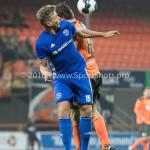 25-10-2016: Voetbal: FC Volendam v Almere City FC: Volendam (L-R) Rick ten Voorde (Almere City FC), Kees Kwakman (FC Volendam) KNVB Beker 2e ronde 2016 / 2017