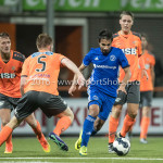 25-10-2016: Voetbal: FC Volendam v Almere City FC: Volendam (L-R) Paul Kok (FC Volendam), Yener Arica (Almere City FC) KNVB Beker 2e ronde 2016 / 2017